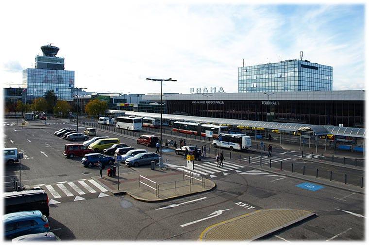 Prague Airport Arrivals
