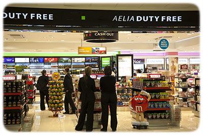 Prague Airport Duty Free Shopping
