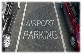 Parcheggio nell'aeroporto