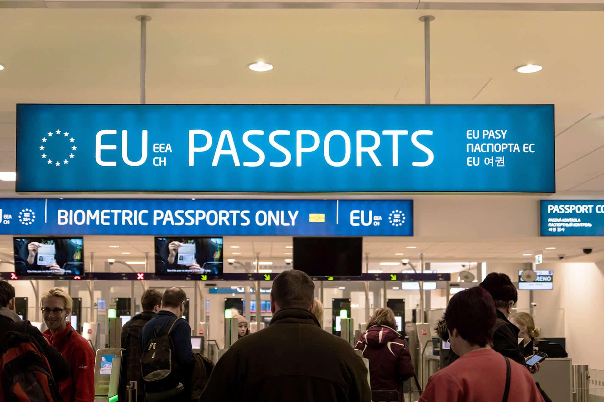 Passport Control - Prague Airport (PRG)