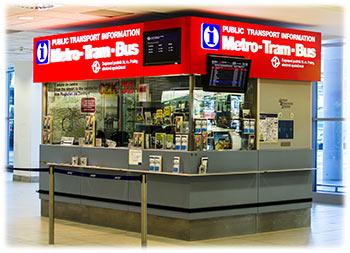 Public transport kiosk