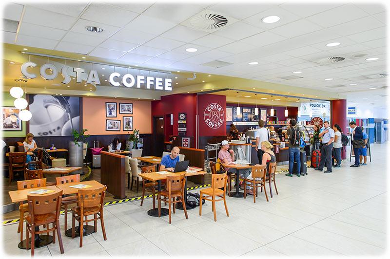 Prague Airport restaurants